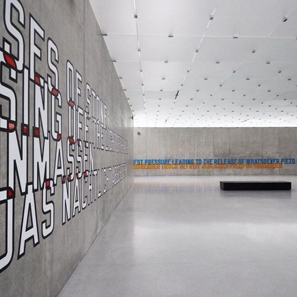 when Art meet Architecture #austria #bregenz #Kunsthaus #museum #swissarchitect #PeterZumthor #1997 #art #contemporaryart ...