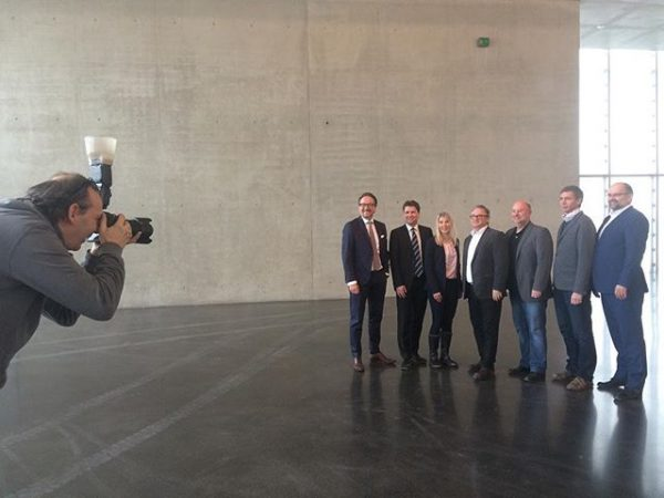 Photo session with our main Sponsor HYPO #KunsthausBregenz #Thankyou