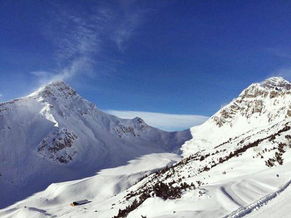 #föhnstimmung 💨 #brandnertal #skigebiet #glattjoch #amatschonjoch #bergespüren #skifahren #vorarlberg #naturpur Bergbahnen Brandnertal