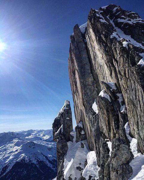 Grubenjochspitze today (2659m) 😍 #skimountaineering #skitour #skimo #nature #naturepic #landscapes #mountainscenery #mountains #alps #alpinism #lovemountains #bergwelten #livewithoutlimits...