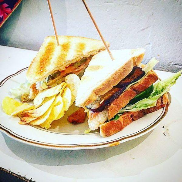 #sandwich #club #clubsandwich #lieblingscafe Lieblingscafé