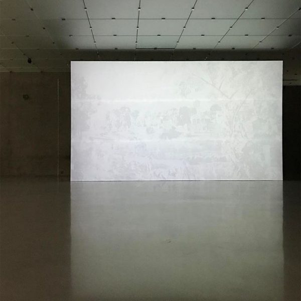 @worrrld #rachelrose @kunsthausbregenz #aminuteago #wovenpoussin Kunsthaus Bregenz