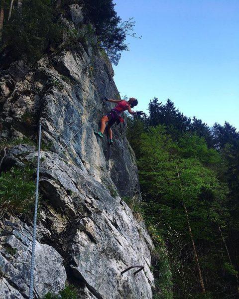 Don't forget to be happy😃 #abendrunde #klettersteig #meinmontafon #montafon #vorarlberg #evening #freshair #nature ...