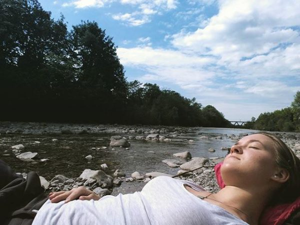 #relaxing #sun #sunnyday #sunday #dornbirnerache #vorarlberg #weekend #entspannt :)