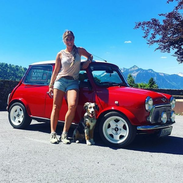 On tour with this beauty -->🚘 with buddy🐶 Propstei St. Gerold