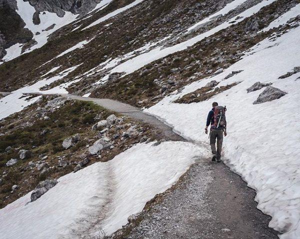 #hiking #brandnertal #luenersee #schweizertor #vorarlberg