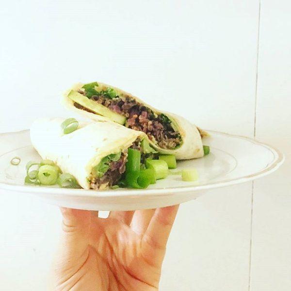 Diese Woche: Zuccinisuppe, gebackene Zuccini mit Remoulade im Baguette oder auf Salat, Wrap ...