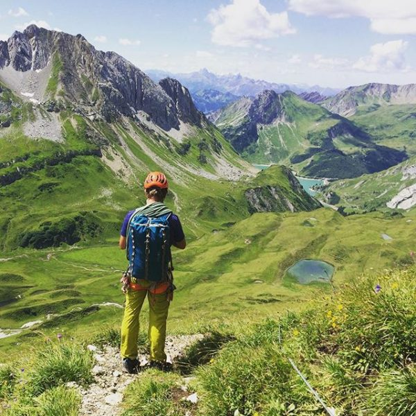 #holiday weekend at home ⛰😃 Great #climbing in the #mountains of #vorarlberg. #roggalspitze #spulersee #ravensburgerhuette #berge #klettern...