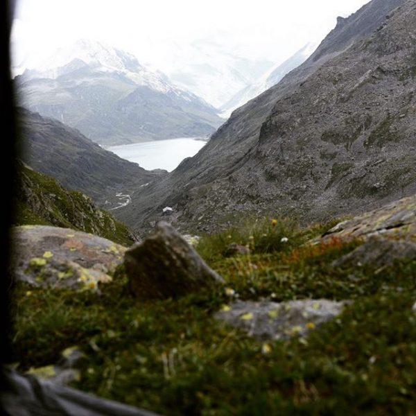 Heute mal eine gescheite solo Bergtour in der Silvretta mit Übernachtung auf 2630m ...