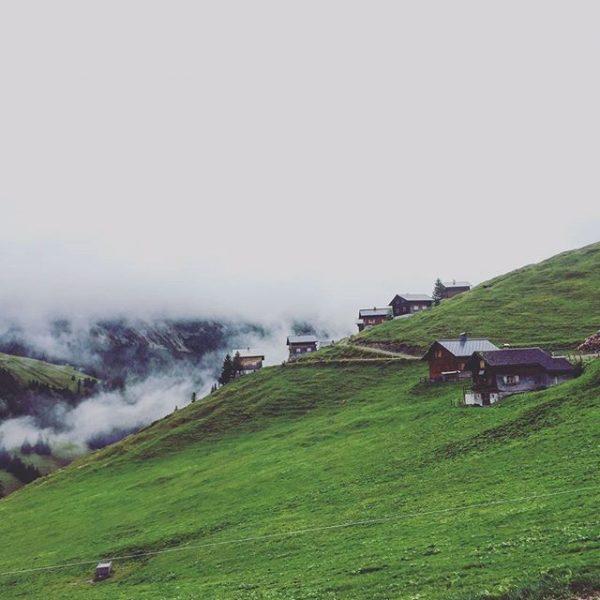Katrin hat uns heute dieses Bild von der Alpe Gamp geschickt - Danke! ...