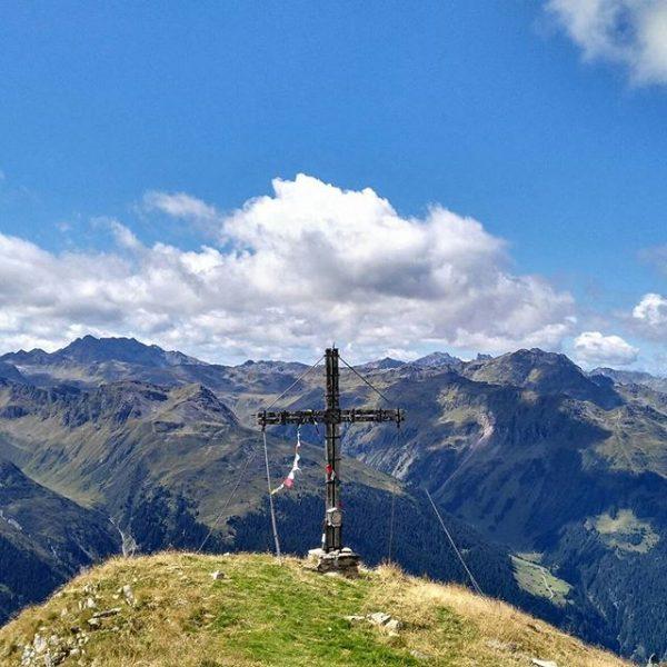 Geniale Tour heute :) Tafamunt - Versalhaus - Versalspitze - Alpe Verbella - ...