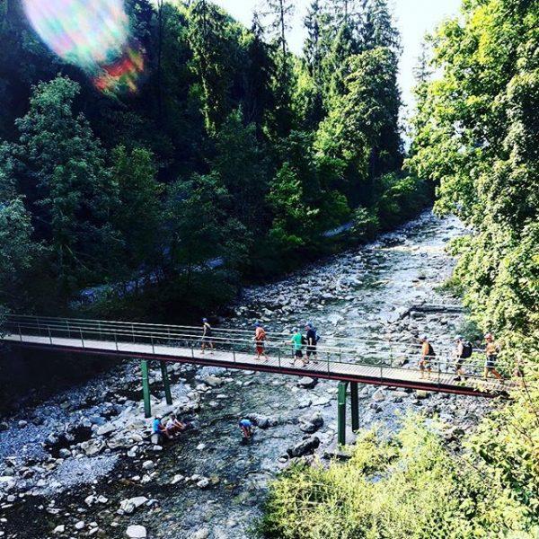 #dornbirnerache #bridges #cooldown #water #dornbirn #vorarlberg #forest Waldbad Enz