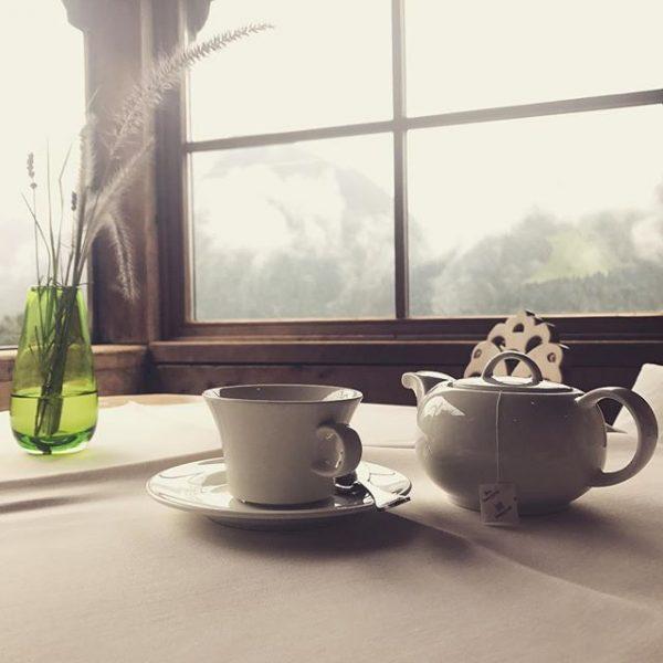 Das richtige Wetter, um einen Tee im gemütlichen Schopf zu trinken und sich nachher im Wellnessbereich einem...