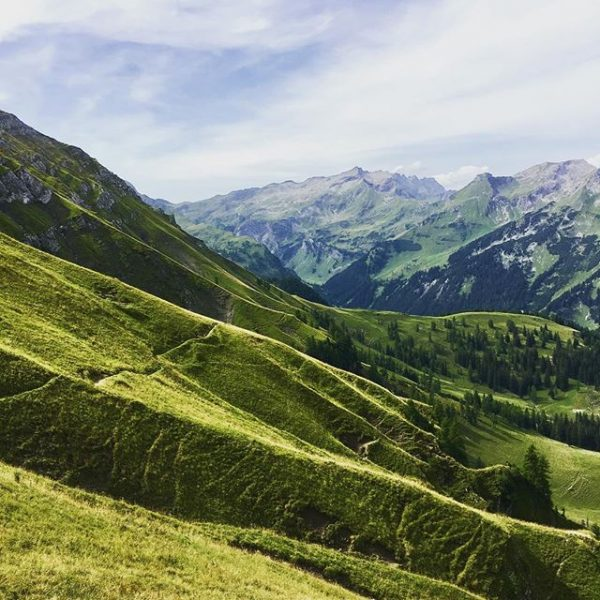 These wunderful alpes 💚 on the way to Nenzinger Himmel #rätikon #wanderlust #brandnertal ...
