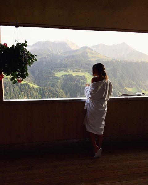 Ankommen und Wohlfühlen 🌸 Ich liebe die Berge und ich liebe diesen Ort. ...
