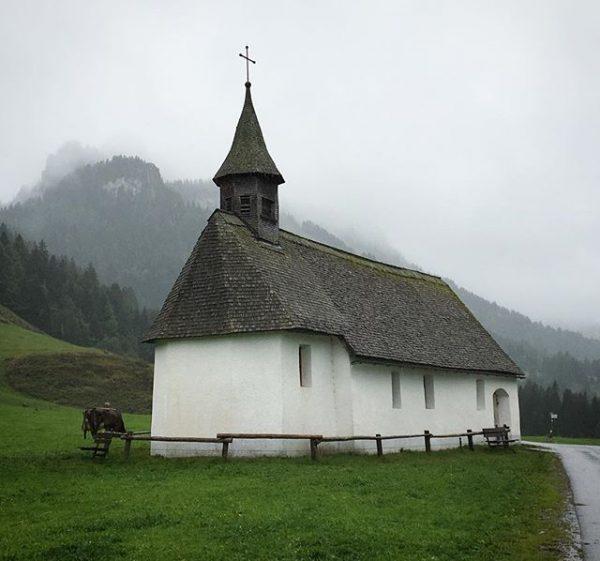 Chapel in the mountain village of Schoenbach. Sublime. #myvorarlberg #architecture #vernaculararchitecture #vorarlberg #austria ...