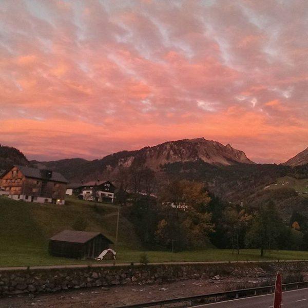 Guten Morgen Bregenzer Wald 😍 Da fängt der Tag ja schon gut an ...