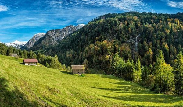 #autumn in #buchboden #vorarlberg #austria #travel #landscape #forest #traveling #hiking #mountains #awesome #nature ...