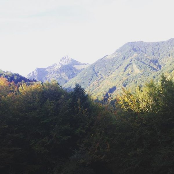#schoolday #mountain #wonderfull #beauteful #iloveyou Amerlügen, Vorarlberg, Austria