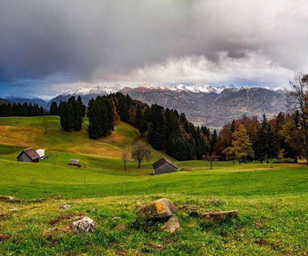 Alpen in Vorarlberg . #Landscape #vorarlberg #autumn #austria #osterreich #übersaxen #fujifilmxt1 #europe #alps ...