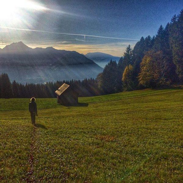 Those perfect days in #fall. #vorarlberg #visitvorarlberg #visitaustria #igersaustria #hike Übersaxen, Vorarlberg, Austria