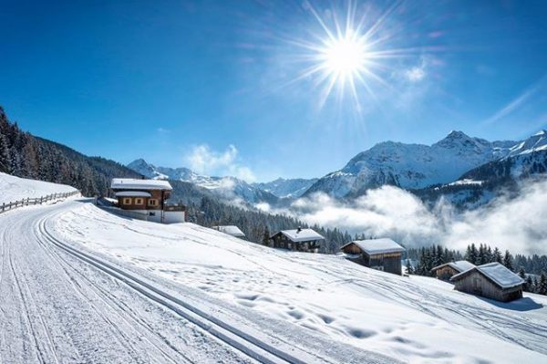 #winter am #kristberg #montafon #vorarlberg #austria #schnee #landschaft #outdoors #landscape #snow #travel #langlaufen ...