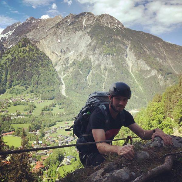 Break with a view ⛰🧗♂️⛰ #austria #montafon #meinmontafon #silvrettamontafon #mountains #mountainlove #mountainlovers #climbing ...