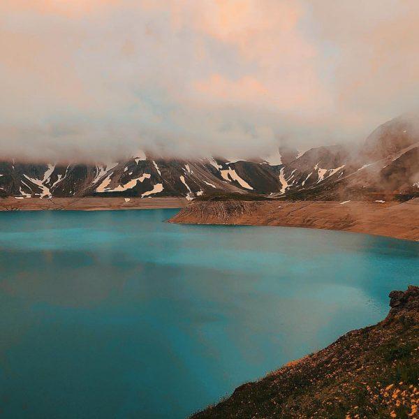 Der Berg ruft! Lünersee auf 1970 Meter. Die letzten 400 Höhenmeter dann doch ...