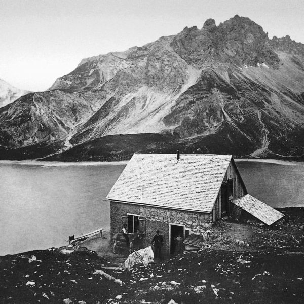 #throwbackthursday: Here you see the first mountain refuge in the Eastern Alps - ...