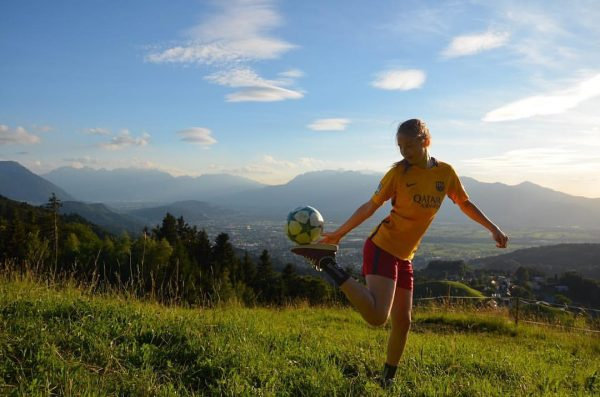 Do what you love 🔥😍⚽️ #justdoit #view #amazingview #soccer #soccergirl #nofilter Dafins, Vorarlberg, ...