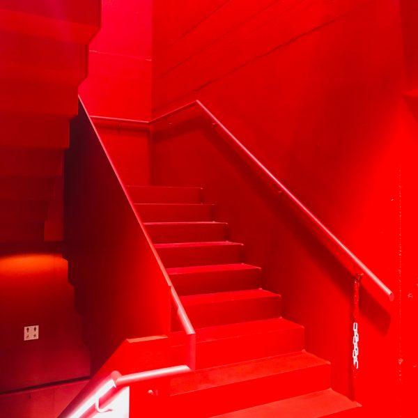 @marte.martearchitects #messehalledornbirn #stahltreppe