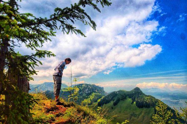 Wandern ist das Ziel, haben sie gesagt... . 📍Staufenspitze 1465 m - Österreich . . . #wandernistdasziel...