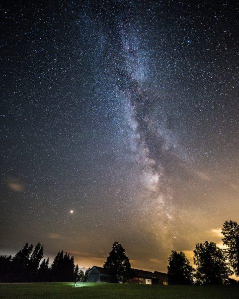 milkiway #milchstrasse #astronomie #nacht #nachtaufnahme #langzeitbelichtung #sterne #stars #galaxy #mountains #lightpollution #voralrberg #bregenz ...