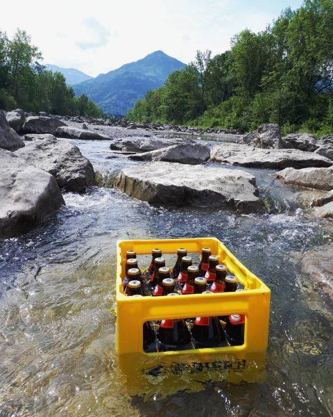 Rote Forella isetza! #ach #baden #beachlife #dornbirn #tierliebe #urlaubsstimmung #vacation #bier #bierliebe #mohren #karren #vorarlberg #spezial #roteforella...