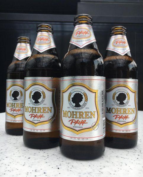 Gang! #mondayblues #mohren #pfiff #märzen #bier #dasvorarlbergerbier #erfrischend #dachterrasse #biervorvier #wochenstart