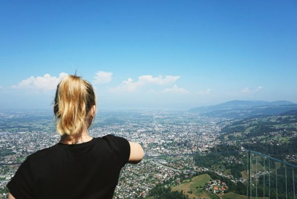 #vacation is #on! #karren #dornbirn #austria #österreich #gondel #view #panorama #nohiketoday #buttomorrow #vacation ...