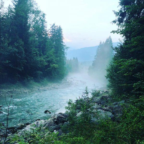 Stimmungen wie sie nur die Natur machen kann..... Sankt Anton im Montafon