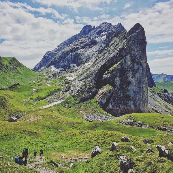 #drusenfluh #schweizertor #hiking #nature #montafon #brandnertal #vorarlberg #austria #visitvorarlberg #mountains #luenersee #friends #ruth ...