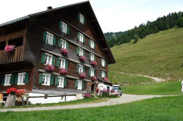 Great morning at Alpe Gerisgschwend where we watched Josef make Alpkäse (Alp cheese) ...