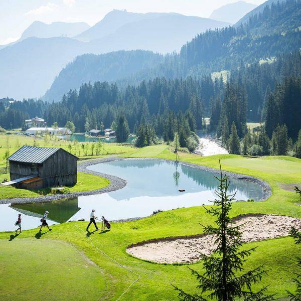 Neue Woche, neues Glück - egal, ob auf dem wunderschönen Golfplatz Lech oder ...