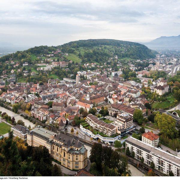 Feldkirch vom Stadtschrofen aus gesehen - ein Lieblingsblick von mir #feldkirch #visitfeldkirch #bodenseevorarlberg ...