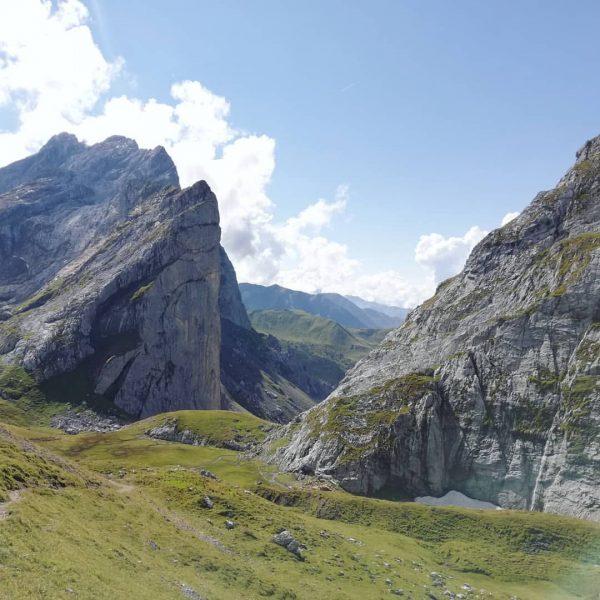 Lünersee - Schweizer Tor - Lünersee Ich war heute sehr fleißig. Bevor ich ...
