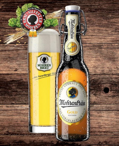 > Gold - Mohren Gold! #esistwiederda #festbier #brausilvester2018 #savethedate #nurfürkurzezeit #handcrafted #bier #beer #austria #vorarlberg #genuss #gold...