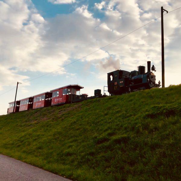 #rheinbähnle #feierabendgenießen #radausflug #sonnenuntergang #wochenende 😎 Vorarlberg