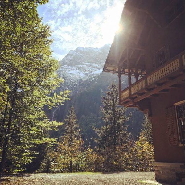 These Days...👌 🍂🍁 #autumnlove #babyitscoldoutside #villamaund #autumnevents #wearestillwild #weddinglocation #mountainwedding #visitvorarlberg #visitbregenzerwald #schoppernau