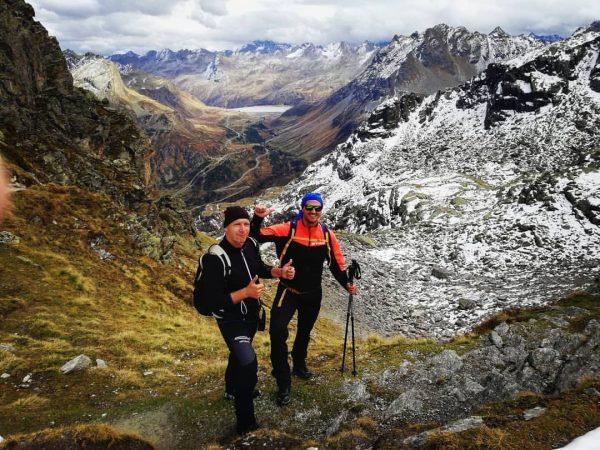 Hochmadererjoch 2505m. Que maravilla de ruta. 7 horas de marcha que no las ...