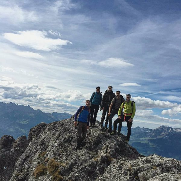 everything worthwhile is uphill ▫ ▫ ▫ #vorarlberg #friends #austria #liechtenstein #alps #austrianalps ...