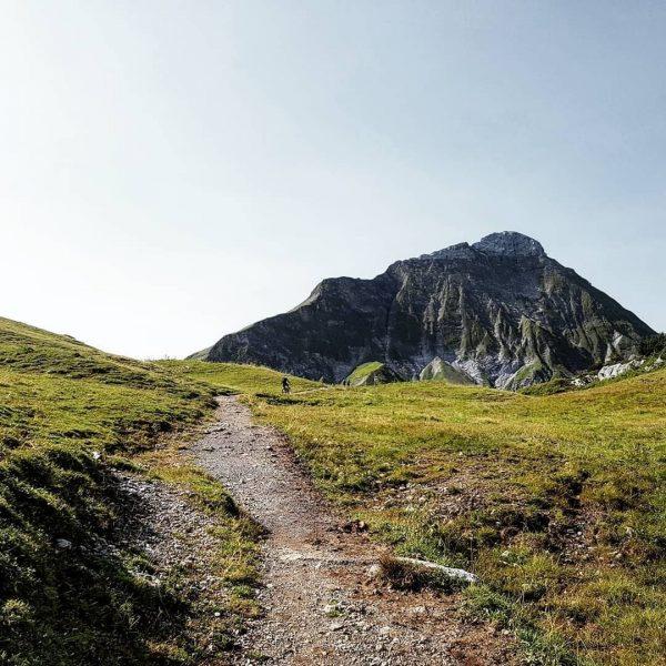 Treten, treten, treten – Einfach ein Traum! Danke an @alphuswarth! #vorarlberg #mountainsports #mountainbike ...