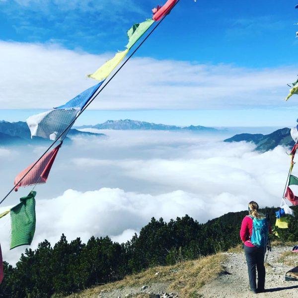 #überdenwolken #wanderlust #berge #wandern #alpen #neuehorizonte #puresglück #sonnegenießen #bergpic #herbsttour Hoher Fraßen