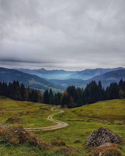 Wanderlust 💚 #visitbregenzerwald #wandern #bregenzerwald #vorarlberg Hochhäderich